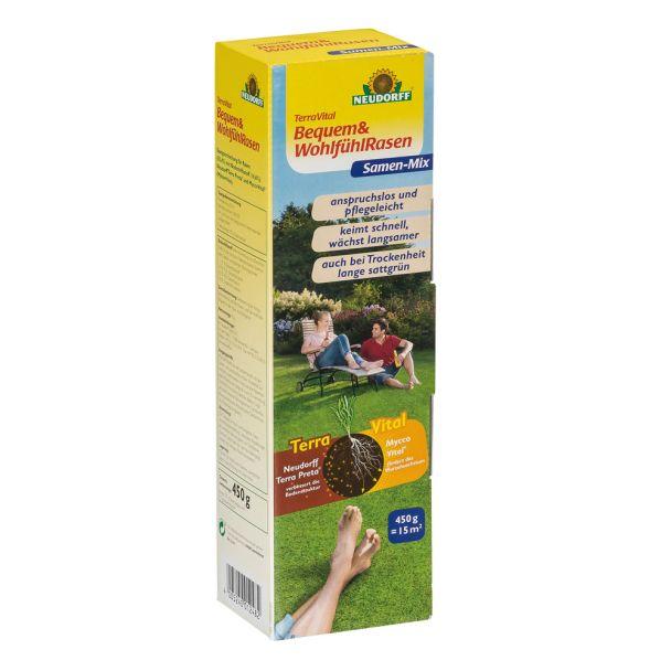TerraVital® 'Bequem&WohlfühlRasen' Samen-Mix 450 g