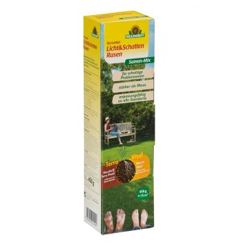 TerraVital® 'Licht&SchattenRasen' Samen-Mix 450 g (100 g / € 2,89)