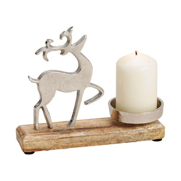 Rentier Kerzenhalter
