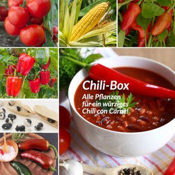 Set-Preis: Chili-Box (6 Gemüsepflanzen)