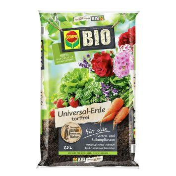 COMPO Bio Universal-Erde torffrei -7,5 l Beutel (1 l / € 0,80)