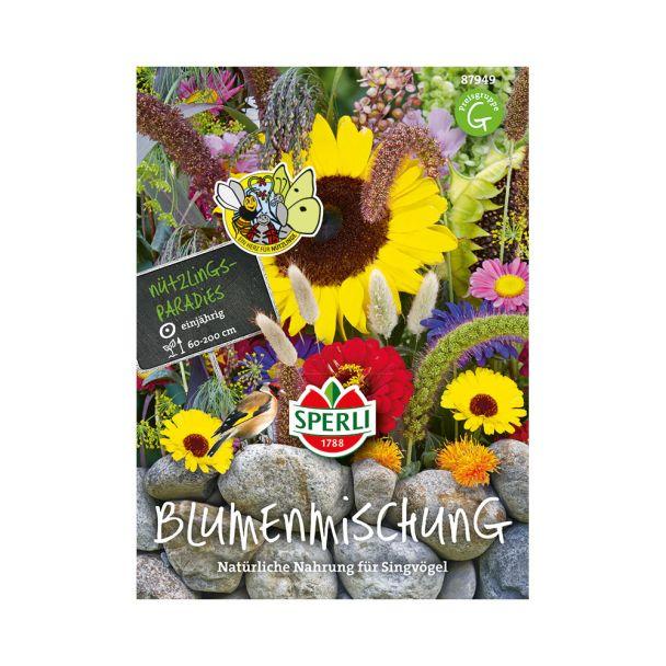 Blumenmischung 'Natürliche Nahrung für Singvögel'