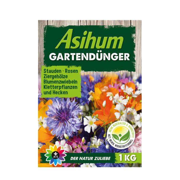 Asihum Gartendünger 1 kg (100 g / € 0,45)