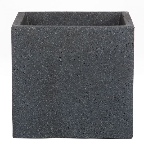'C-Cube®' Stony Black 40 x 40 cm