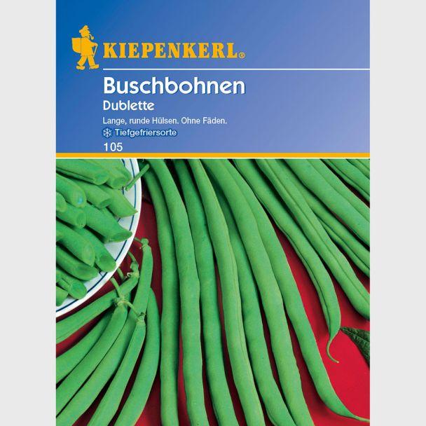 Buschbohnen 'Doublette'