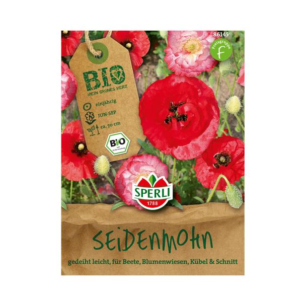 'Seidenmohn-Mischung' - Bio-Saatgut