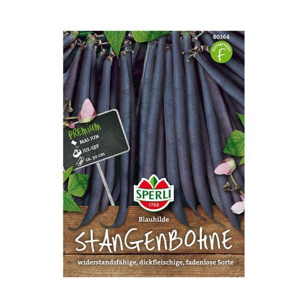 Sperli Stangenbohnen 'Blauhilde'