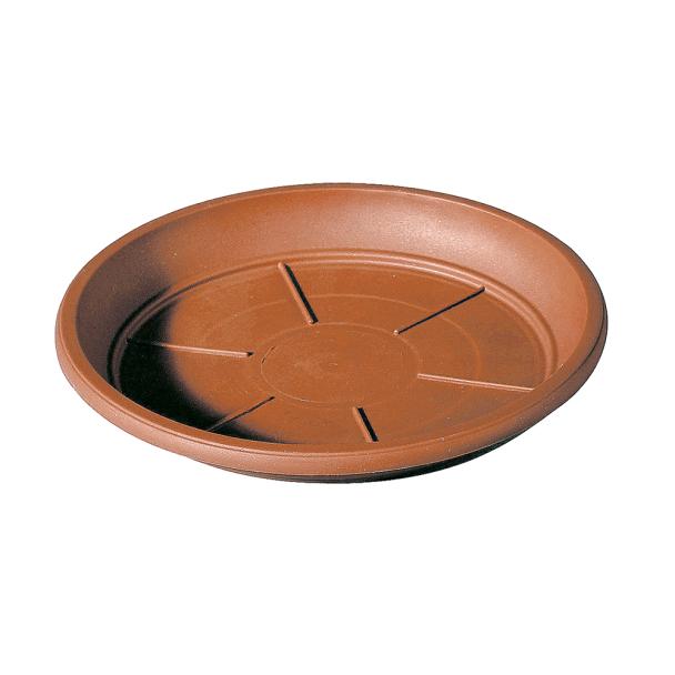 Untersetzer für Pflanztopf Cilindro Day R, 35cm, Terracotta