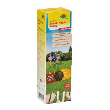 TerraVital® 'Spiel&FreudeRasen' Samen Mix 450 g (100 g / € 2,89)