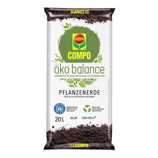 COMPO öko balance® Pflanzerde 20 Liter (1 l = € 0,42)
