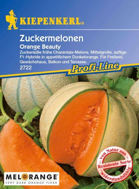 Balkon-Zuckermelone 'Orange Beauty' F1
