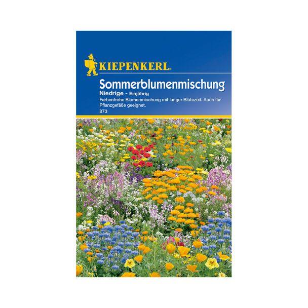 Sommerblumenmischung 'Niedrige - Einjährig'