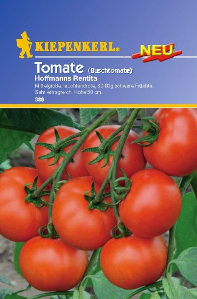 Tomaten (Buschtomate) Hoffmann's Rentita