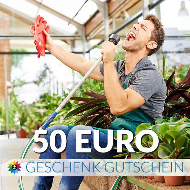 Geschenk-Gutschein, Wert 50 Euro Sänger