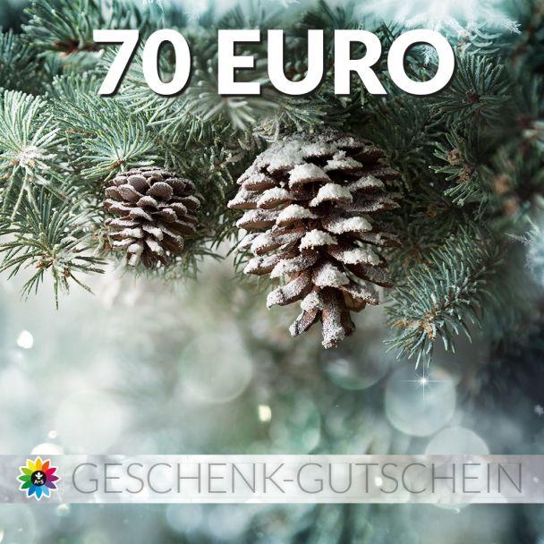 Geschenk-Gutschein, Wert 70 Euro Tanne