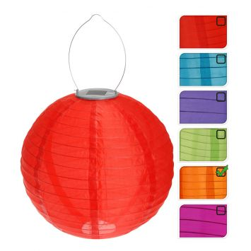 Solar-Lampion, 30 cm, orange