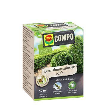 COMPO Buchsbaumzünsler K.O., 50 ml (10 ml = € 3,20)