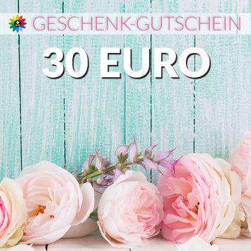 Geschenk-Gutschein, Wert 30 Euro Pfingstrosen