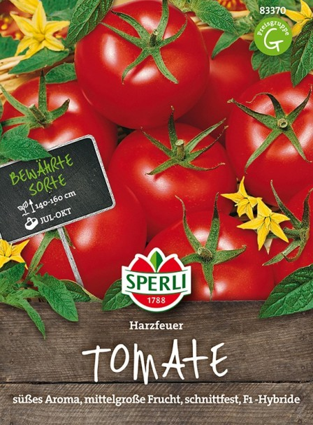Sperli Tomaten 'Harzfeuer' - F1