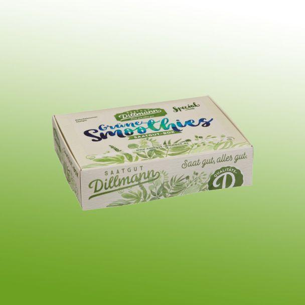 Grüne Smoothies Saatgut-Box S, Karton