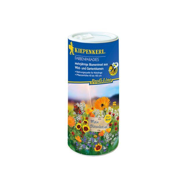 Blumenmischung Farbenparadies - Streudose