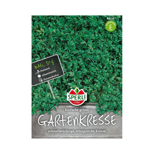 Einfache grüne Gartenkresse - Maxi 50 g