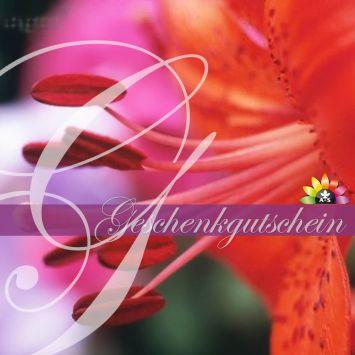 Geschenkgutschein Flower Power