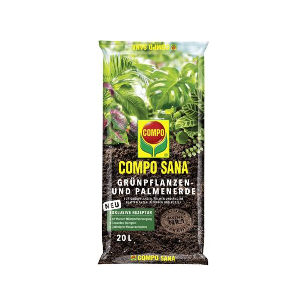 Compo SANA® Grünpflanzen- und Palmenerde 20 Liter (1 l / € 0,43)