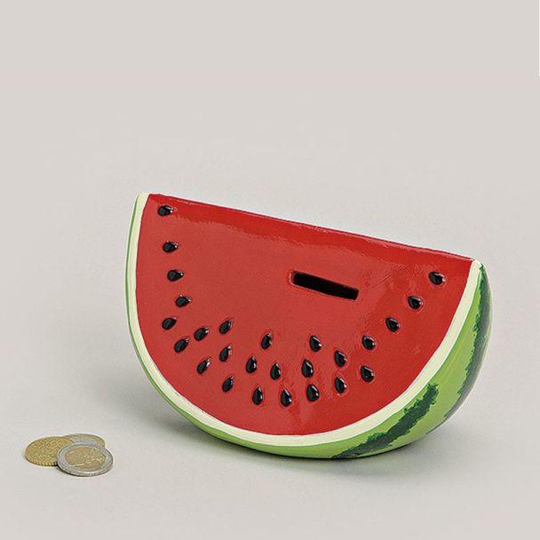 Spardose 'Wassermelone', 18 x 10 x 10 cm