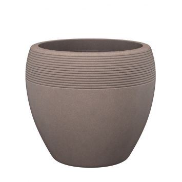 'Lineo®' Taupe-Granit 30 cm Pflanzgefäß