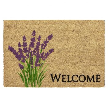 ASTRA Fußmatte Coco Style 'Lavendel', 40 x 60 cm