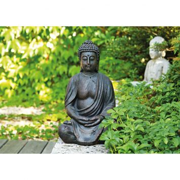 Buddha sitzend  24x23x38 cm