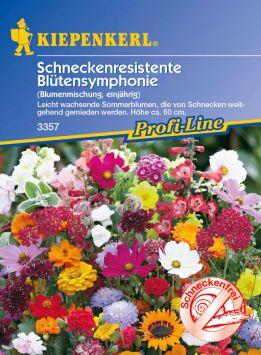 Schneckenresistente 'Blütensymphonie' Blumenmischung
