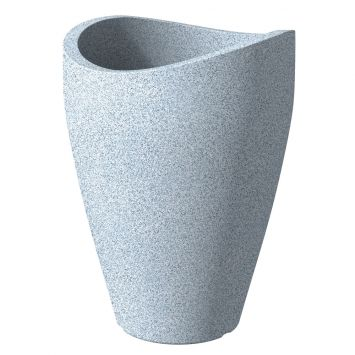 'wave globe® high' Stony Grey Ø 30 cm