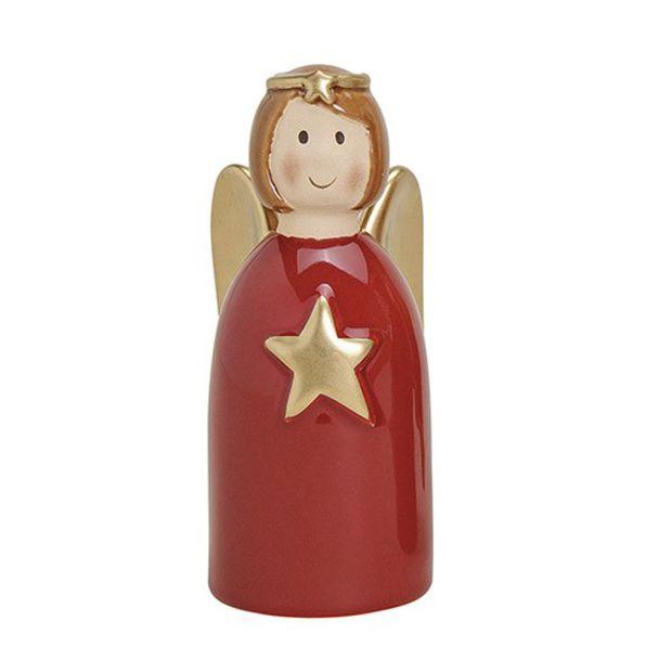Engel mit Stern, 16 cm