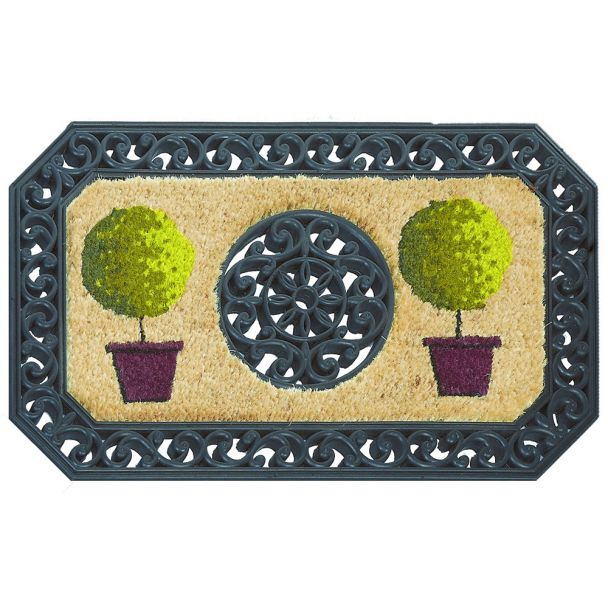 ASTRA Fußmatte Coco Twin 'Bäume', 45 x 75 cm