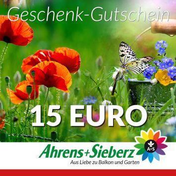 Geschenk-Gutschein, Wert 15 Euro Sommerfreude