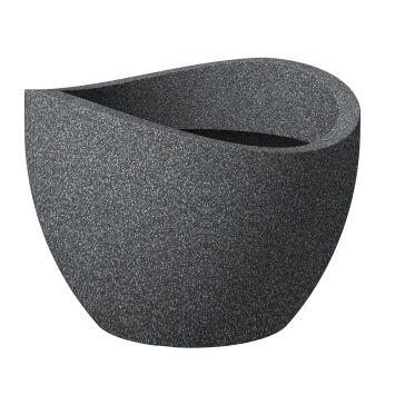 'wave globe®' Schwarz-Granit Ø 40 cm