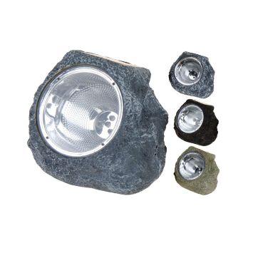Solarlampe - Steinoptik