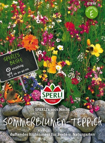 Sommerblumen-Teppich 'SPERLI´s 1001 Nacht'