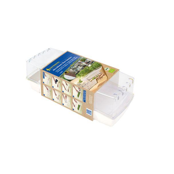 Profi Line Kiepenkerl MicroGreen Duo-Garden BIO inkl. 2 Pads u. 5 Gramm Daikon-Rettich