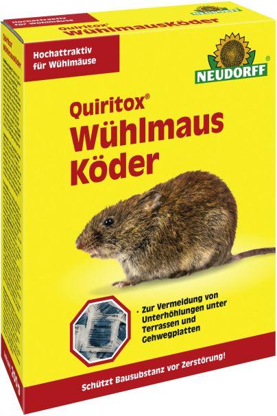 Quiritox® Wühlmaus Köder - 200 g