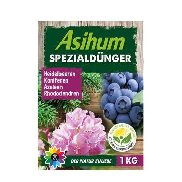 Asihum Spezialdünger 1 kg für Heidelbeeren, Koniferen, Azaleen, Rhododendren u.a.