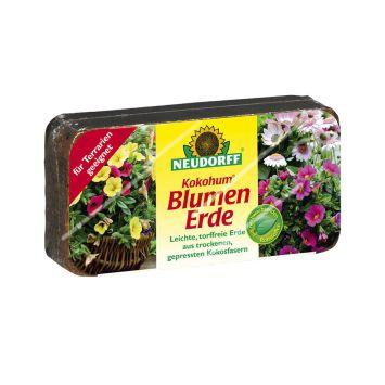 Kokohum® Blumenerde, 1 Brikett