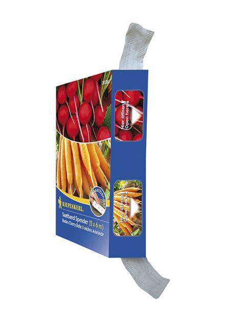 Möhre / Radies (Saatband-Spenderbox)